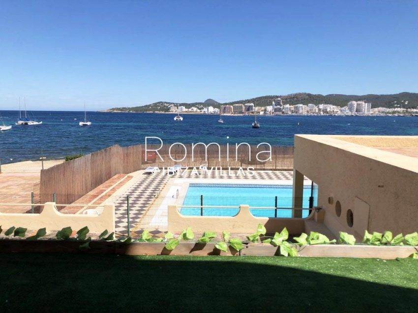 apto bahia vistas ibiza-1pool sea view
