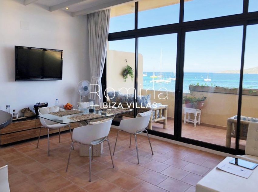 apto bahia vistas ibiza-3dining ara sea view