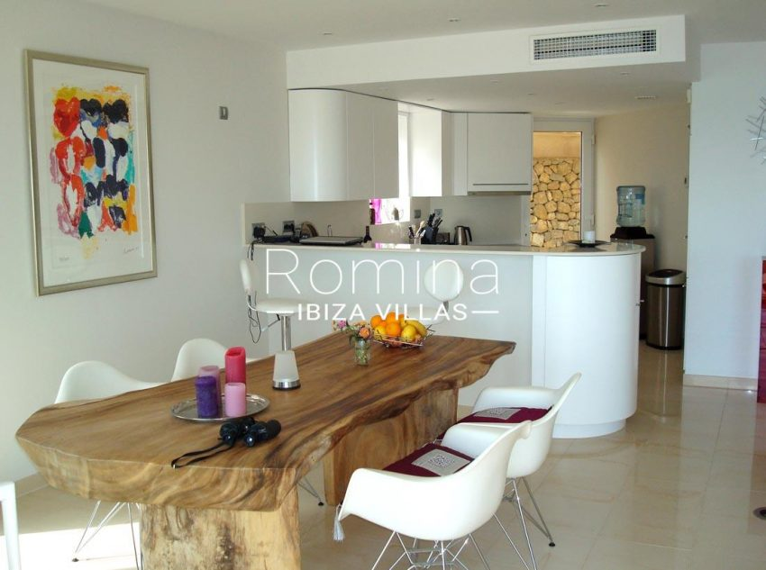 apto vistas mar ibiza-3dining room kitchen