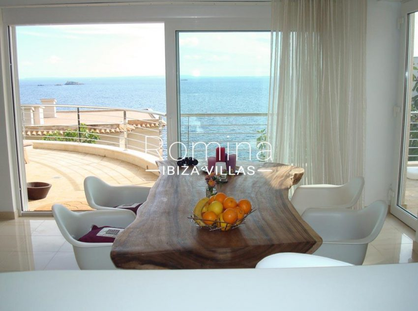 apto vistas mar ibiza-3dining room terrace sea view