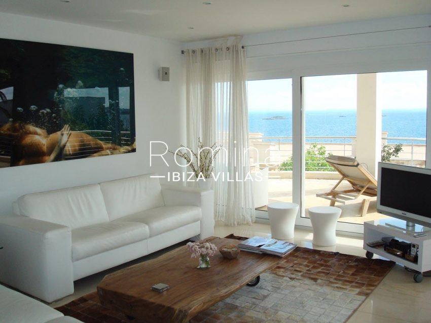 apto vistas mar ibiza-3living room sea view
