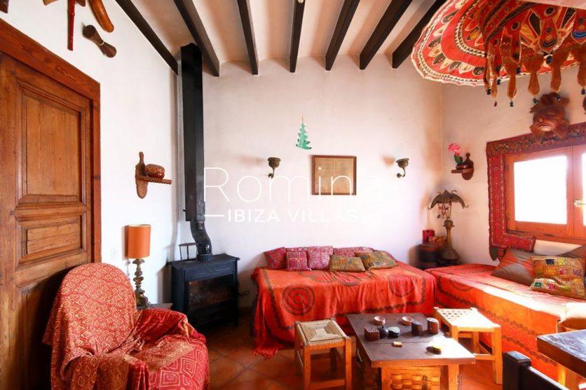casa luz ibiza-3living room stove