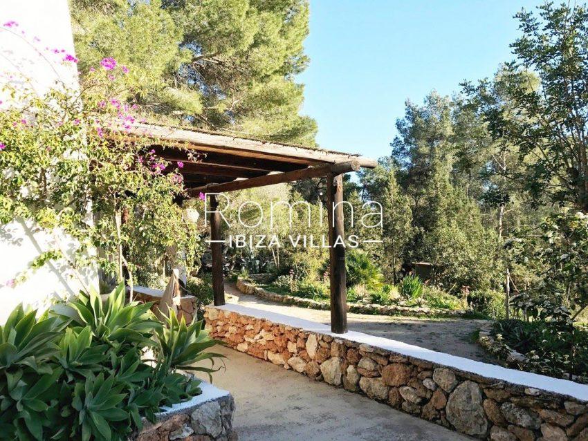 finca lina ibiza-2terrace garden