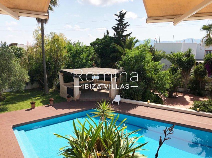villa handia ibiza-2pool pool house