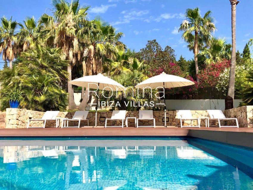 villa handia ibiza-2pool terrace