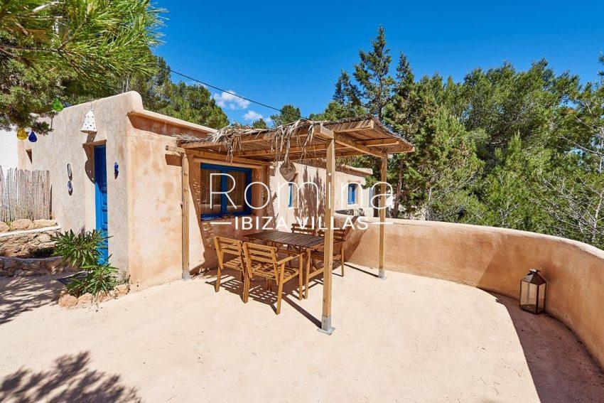 villa itsas ibiza-2guest house terrace pergola