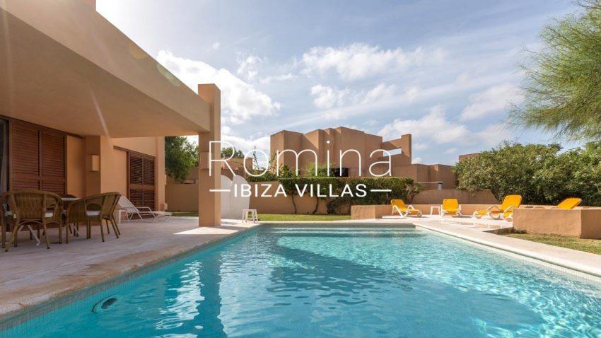 villa umber ibiza-2pool terrace garden