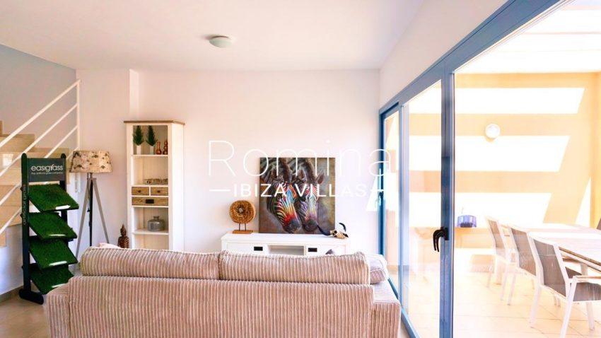 adosado cala tarida ibiza-3living room terrace