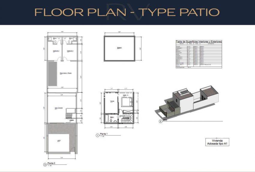 adosados cala tarida-6floor plan type patio