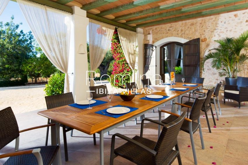 can vicent rafal ibiza-2covered terrace dining area