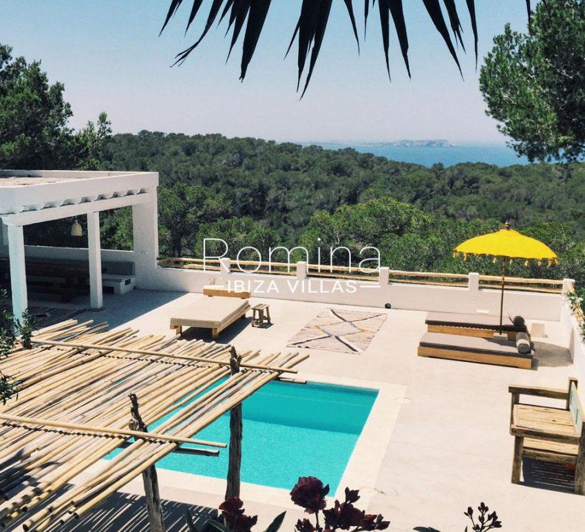 villa mar ibiza-1pool terrace sea view