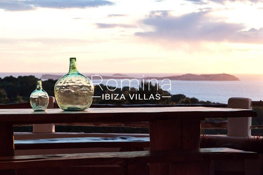villa mar ibiza-1terrace dining area sea view