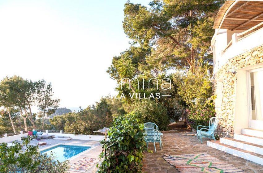 villa mar ibiza-1terrace pool sea view
