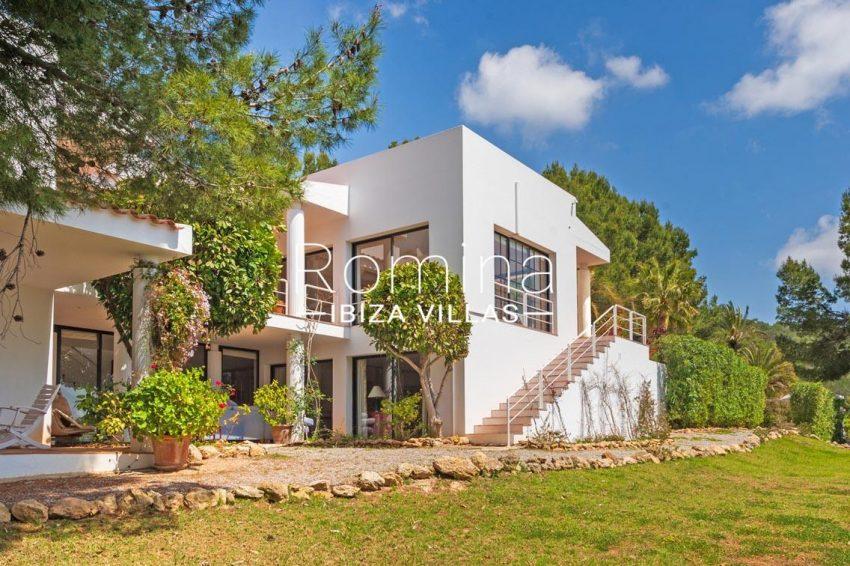 villa micha ibiza-2side facade