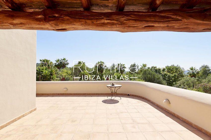 villa samani ibiza-1upper terrace view