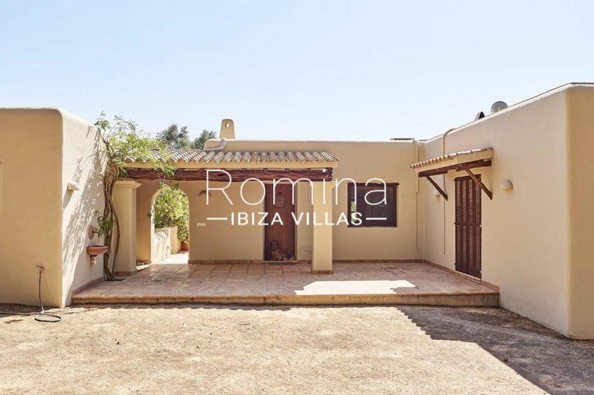 villa samani ibiza-2rear porch