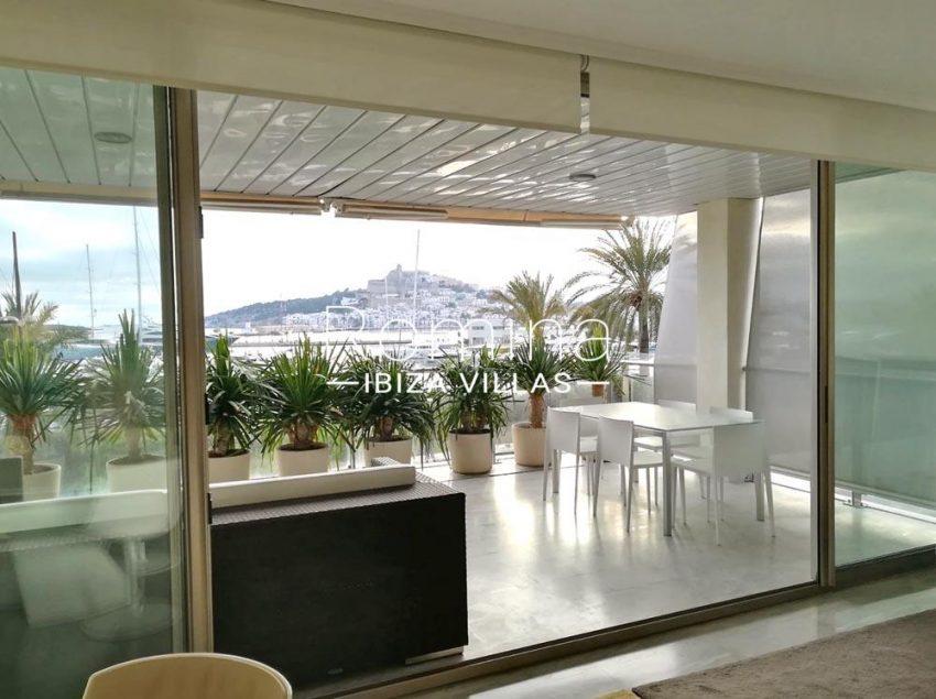 apartamento miramar-1sea view dalt vila from terrace
