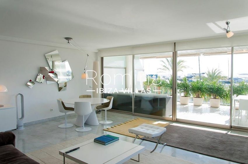 apartamento miramar-3living room sea views