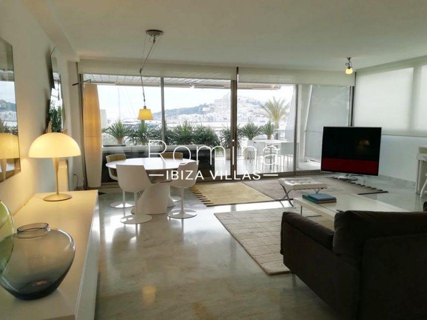 apartamento miramar-3living room views
