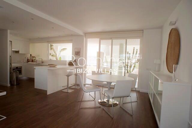 apto azteca ibiza-3dining room kitchen