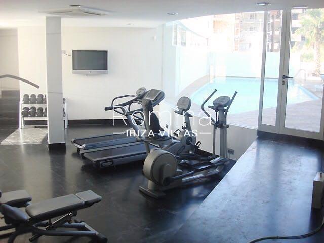 loft ibiza-3communal gym