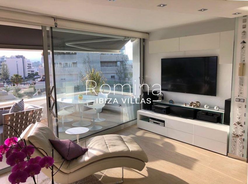 loft ibiza-3living room TV terrace