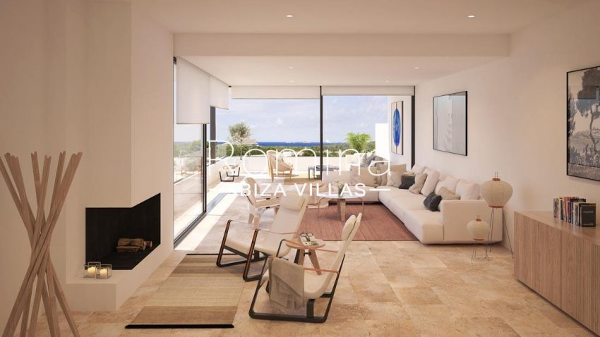 proyecto villas costa-1living room sea view