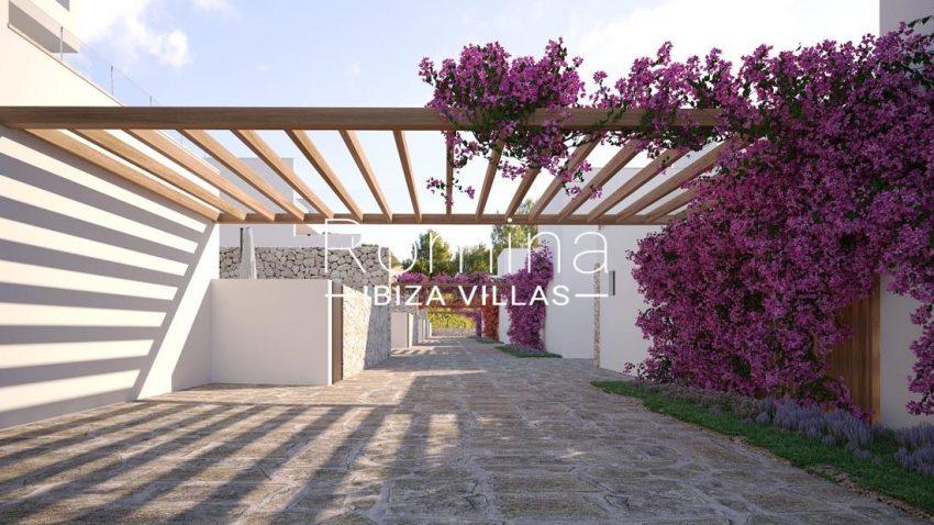 proyecto villas costa-2pergola patio