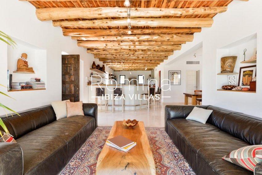 villa hegan ibiza s-3living room kitchen