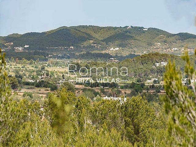 villa tara ibiza-1hills view