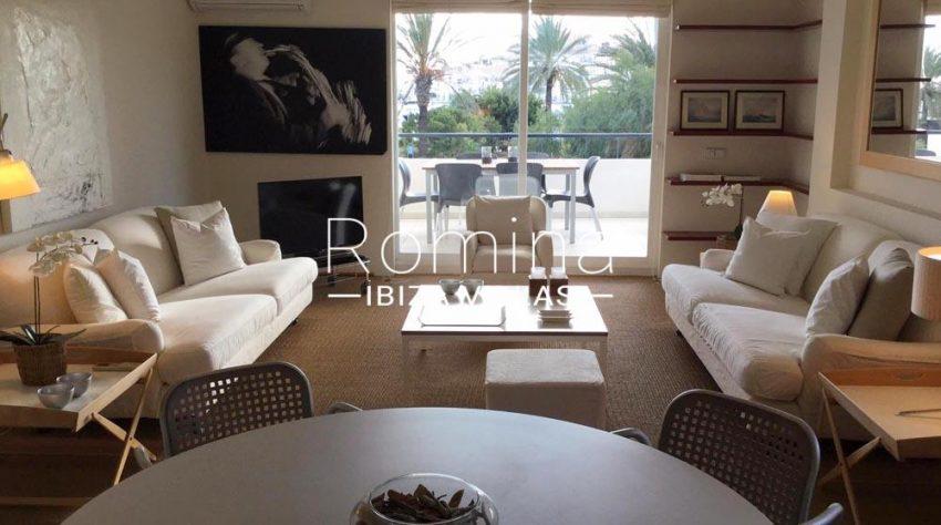 apartamento itsas-3living room sea view Dalt Vila