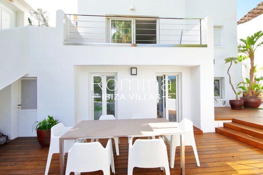 casa playa vistas ibiza-2facade terrace dining area