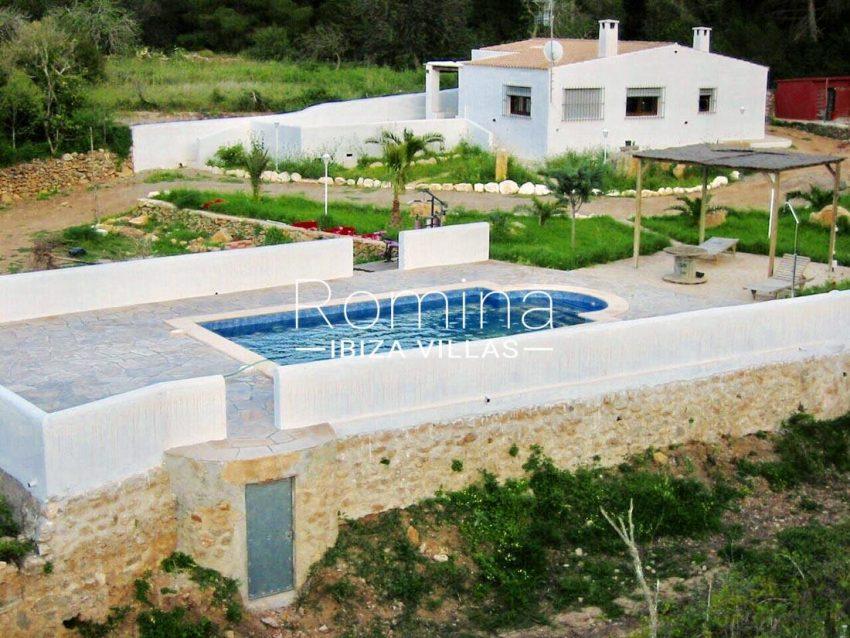 casa shamba ibiza-2pool pergola house