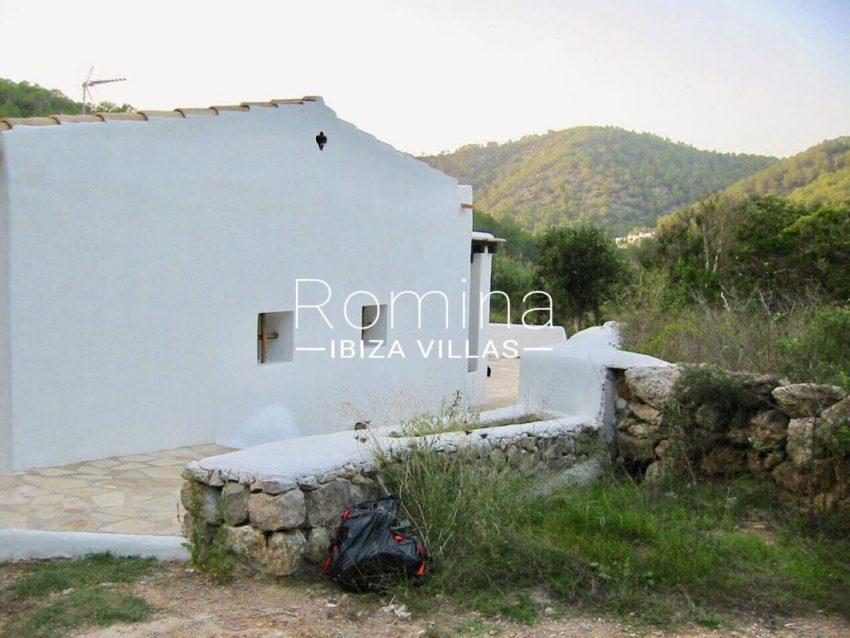 casa shamba ibiza-2rear facade