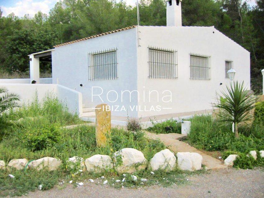 casa shamba ibiza-2rear house