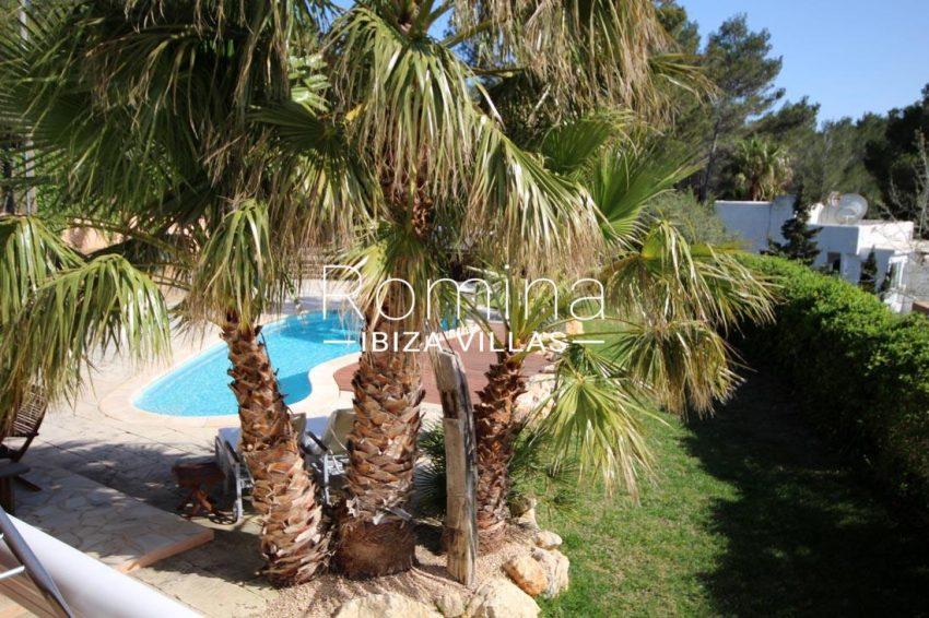 villa kaler ibiza-2pool garden