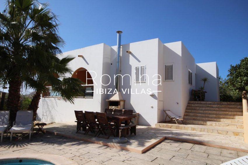villa kaler ibiza-2pool terrace BBQ