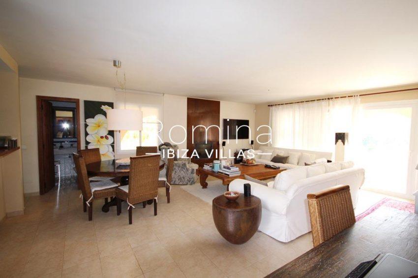 villa kaler ibiza-3living dining room