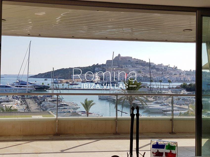 apto miramar p ibiza-1 terrace view