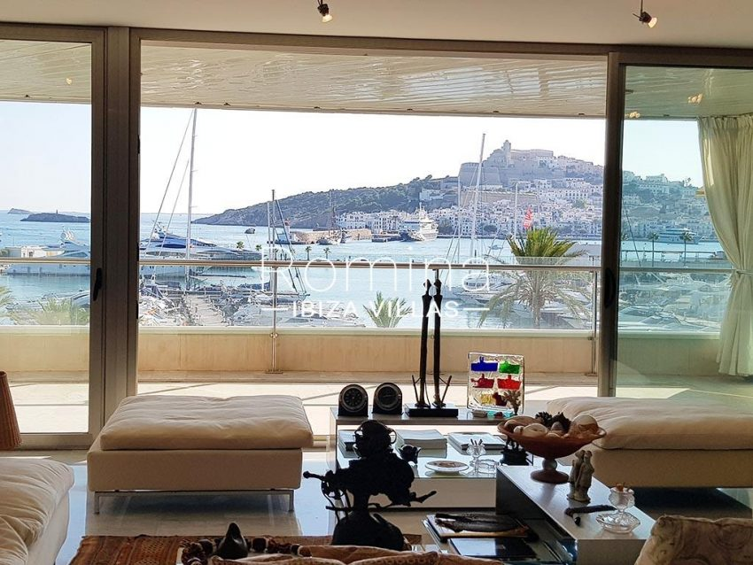 apto miramar p ibiza-1living room sea view