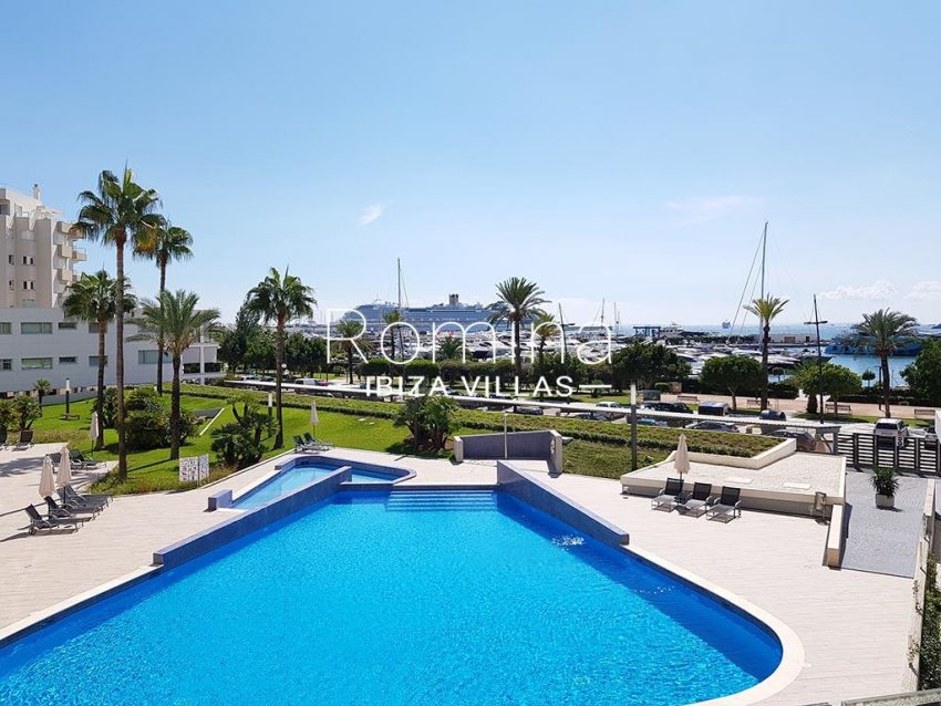 apto miramar p ibiza-1pool sea view
