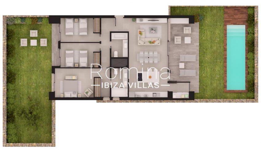 aptos dorrea ibiza-6corner ground floor plan