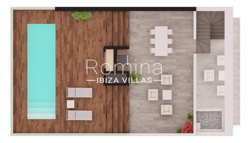 aptos dorrea ibiza-6pool roof terrace penthouse