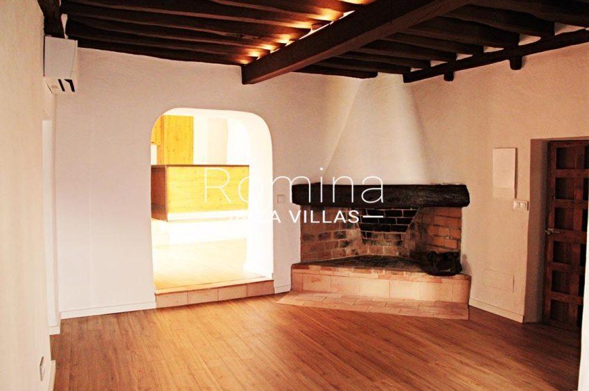 casa vila ibiza-3living room fireplace2