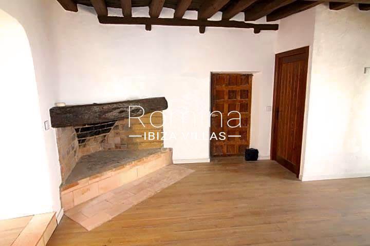 casa vila ibiza-3living room fireplace3