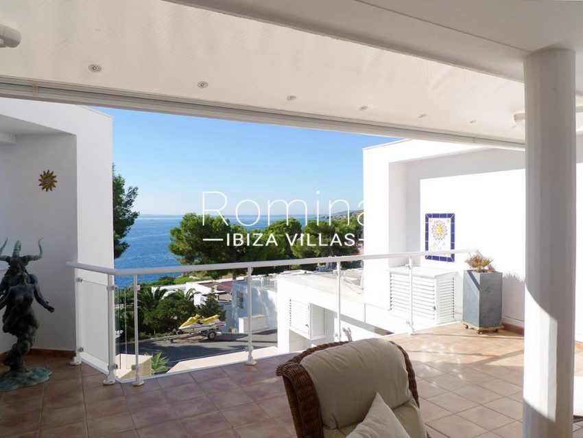 duplex roca mar ibiza-1terrace sea view