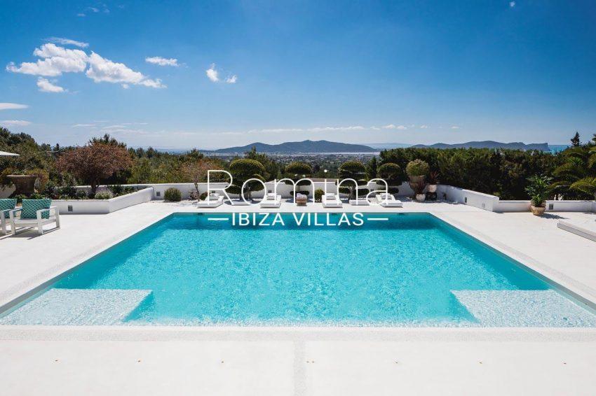 villa everland ibiza-1pool sea view