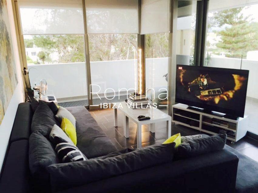 apto mateo ibiza-3living room TV