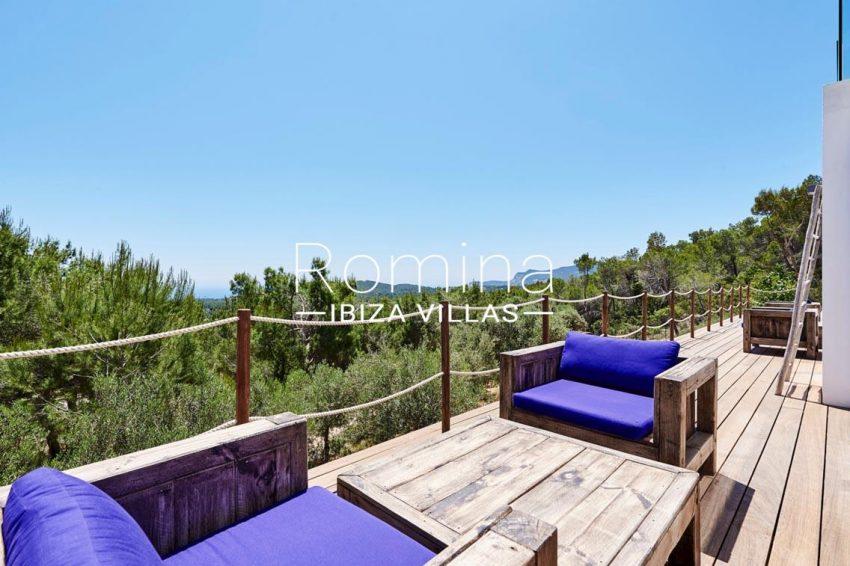 villa adelfa ibiza-1terrace sea view