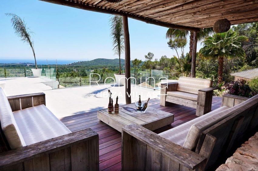 villa adelfa ibiza-1terrace sitting area sea view